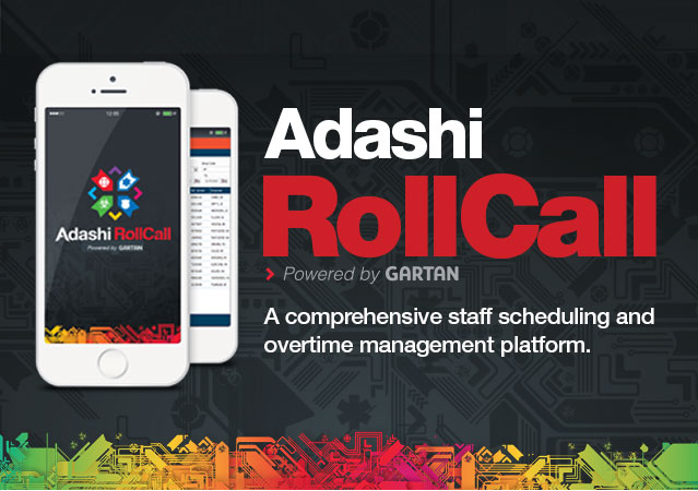Adashi RollCall Public Safety Scheduling Software