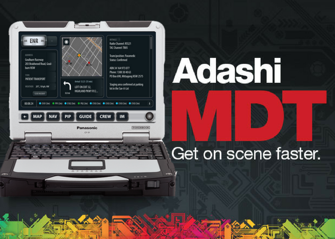 Adashi FirstResponse MDT software