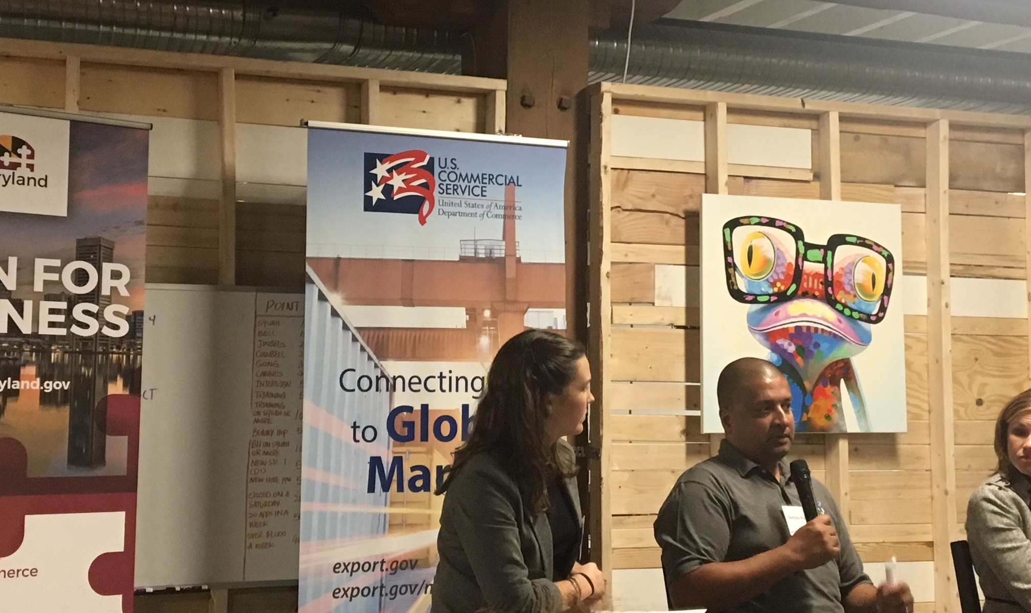 Baltimore Innovation Week Startup Global Panel