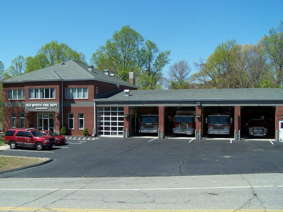 Old Mystic Fire Station