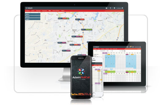 Adashi RollCall Screens - Firefighter Scheduling Made Simple.