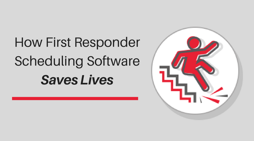 Public Safety Technology Resources - First Responder Scheduling Software Saves Lives Infographic