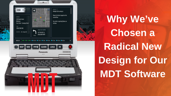 MDT Response Software Radical New Design