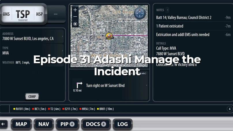 Adashi News - Data in Smartfirefighting Podcast Segment